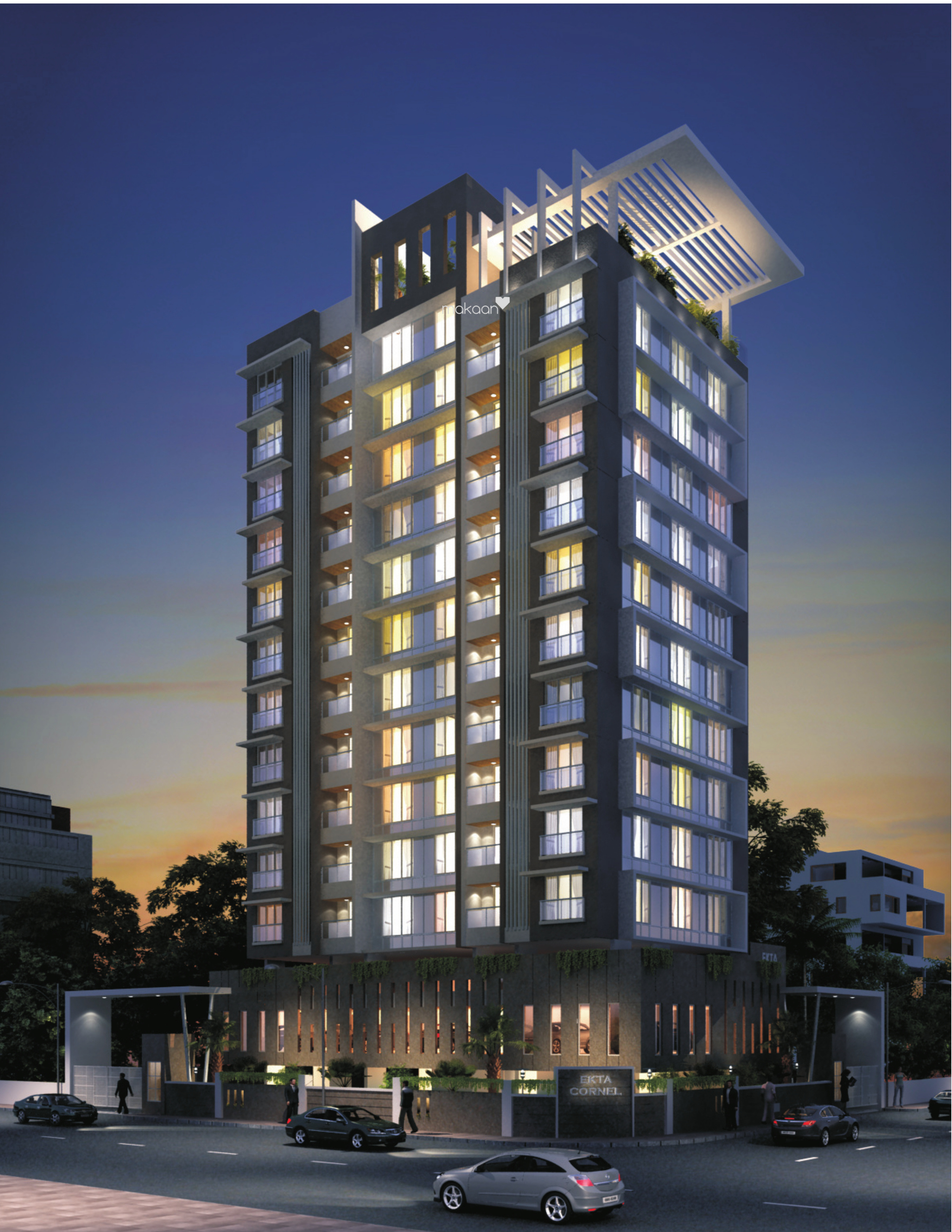 1430 sq ft 3BHK 3BHK+3T (1,430 sq ft) Property By R R Propertiees In Maplewood, Khar