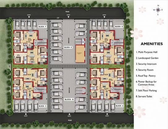 Colorhomes Golden Classic Site Plan