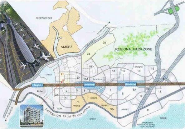 Nirmaan Kailash Crystal Location Plan