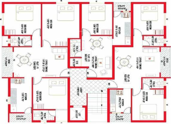 Colorhomes Silver Nest Cluster Plan
