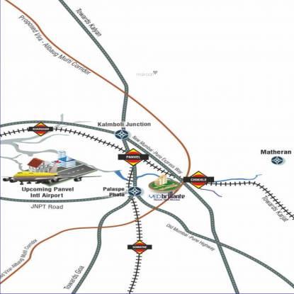 Brillante Location Plan