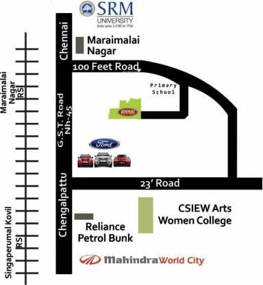 Annai Aaradhana 2 Location Plan