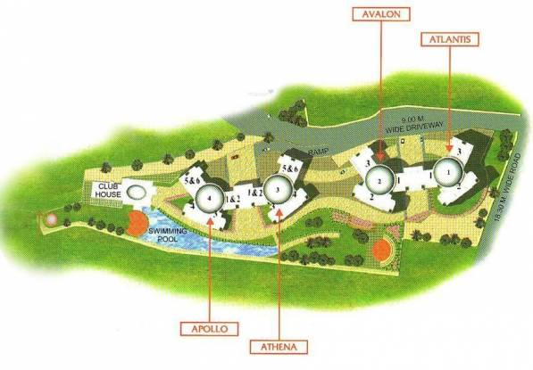 Raheja Acropolis Layout Plan