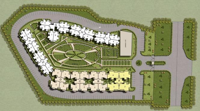 Terra Elegance Layout Plan