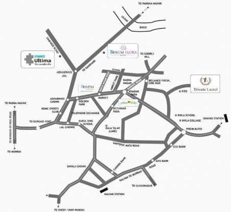 Triveni Dynamic Ultima Location Plan