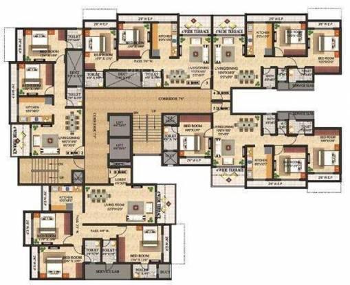 Triveni Laurel Cluster Plan