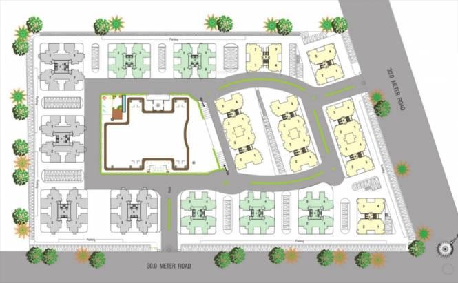 Shree Siddhi Ganesh Genesis Site Plan