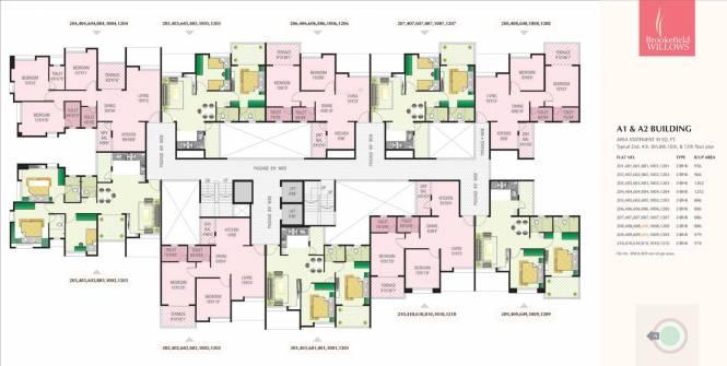 Nirman Brookefield Willows Cluster Plan