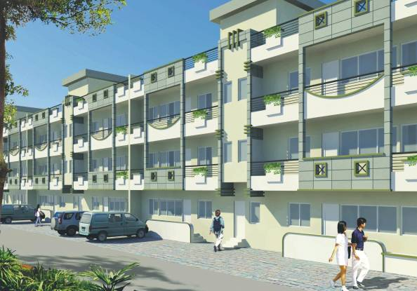 Krish City Phase 1 Elevation
