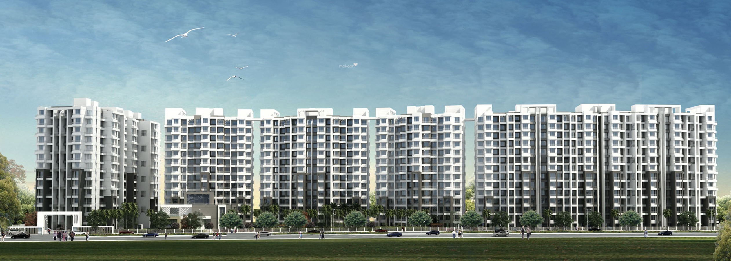 750 sq ft 1BHK 1BHK+1T (750 sq ft) Property By Proptiger In Majestique City, Wagholi