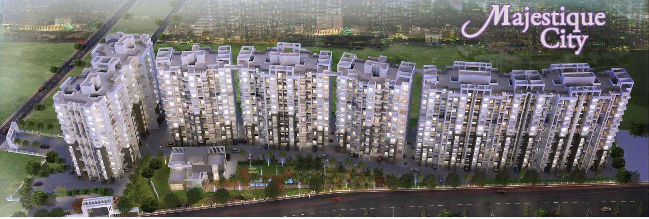 1073 sq ft 2BHK 2BHK+2T (1,073 sq ft) Property By Proptiger In City, Wagholi