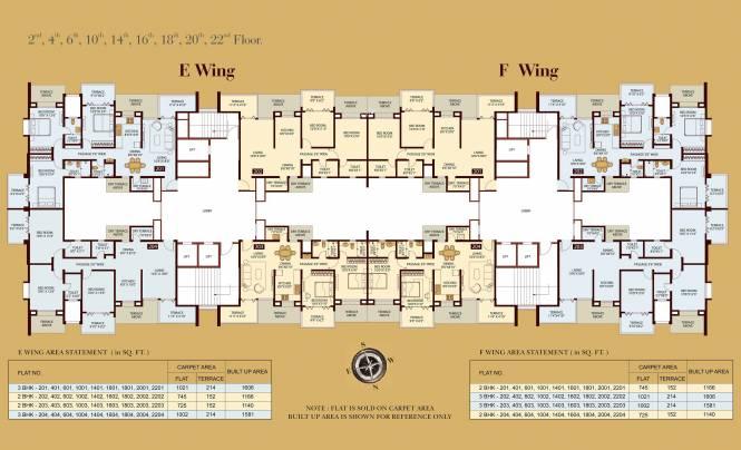Sukhwani Empire Square Cluster Plan