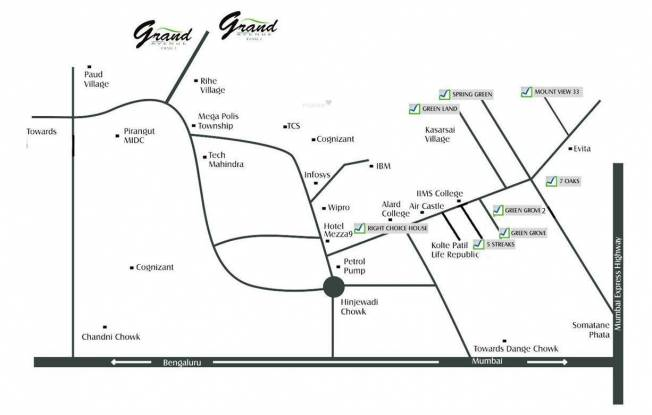Right Green Grove Phase II Location Plan