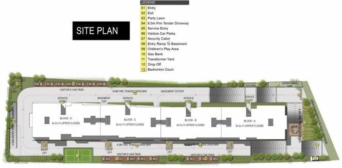 Gina Shalom Site Plan