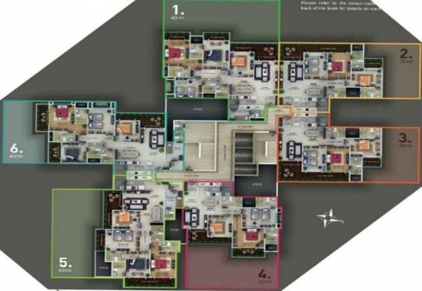 Bharat Skyvistas Cluster Plan