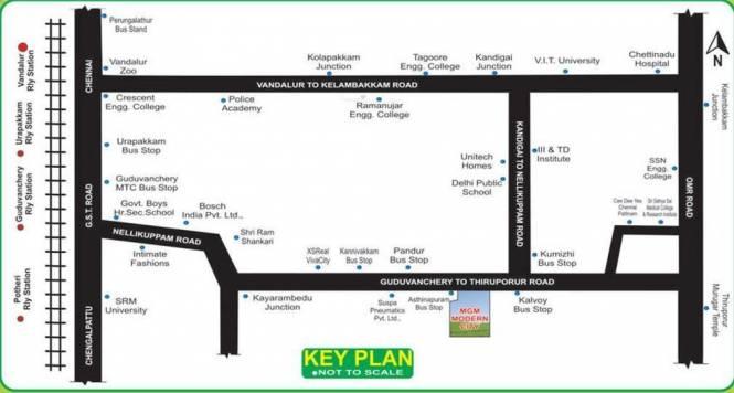 SM MGM Modern City Location Plan