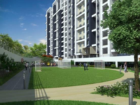 Essen Aishwaryam Courtyard Elevation