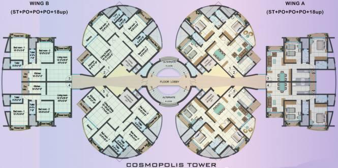 Cosmos Cosmopolis Cluster Plan