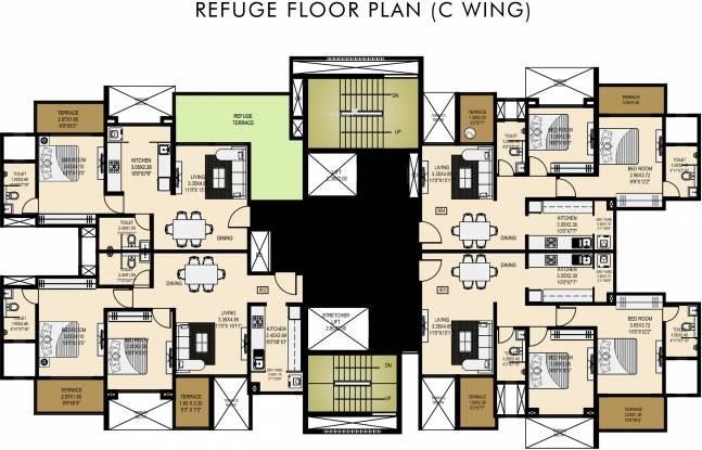 Lushlife Centro Cluster Plan