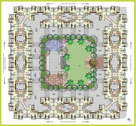 Sumit Greendale NX Cluster Plan