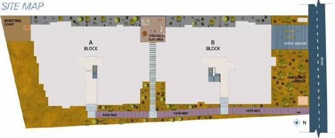 PNR Brinda Residency Site Plan