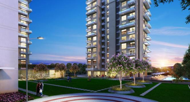 Vatika Sovereign Park Elevation