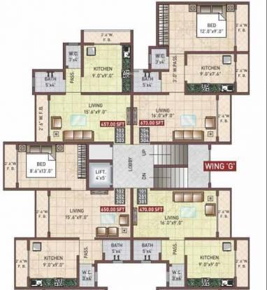 Space Sai Moreshwar Cluster Plan