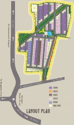Heritage County Layout Plan