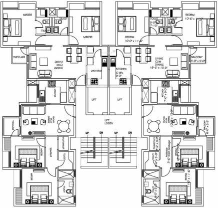 Jaypee Kube Cluster Plan