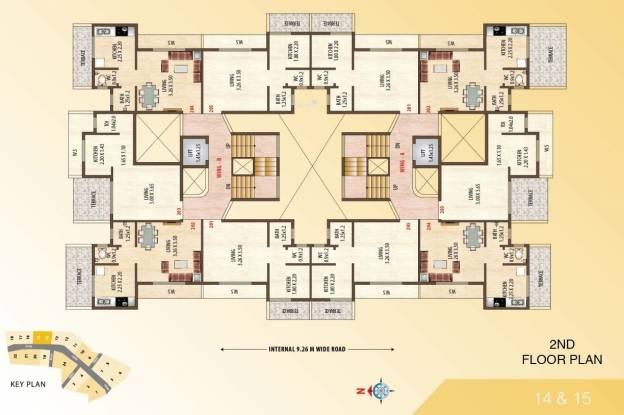 JBD Balaji Complex Cluster Plan