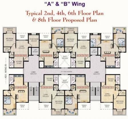 Goyal Shree Ganesh Residency Cluster Plan