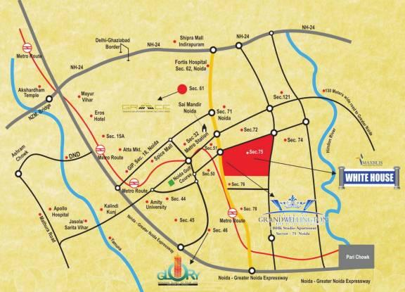 Maxblis Grand Wellington Location Plan