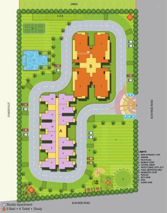 Maxblis Grand Wellington Site Plan