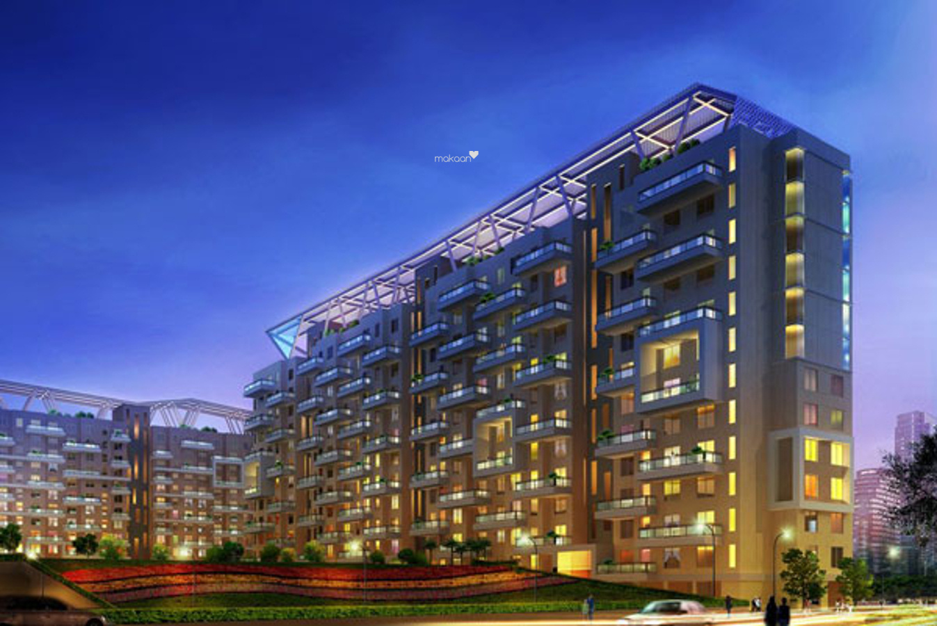 804 sq ft 1BHK 1BHK+1T (804 sq ft) Property By Proptiger In Konark Orchid, Wagholi