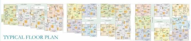 RV Shastri Residencey Cluster Plan