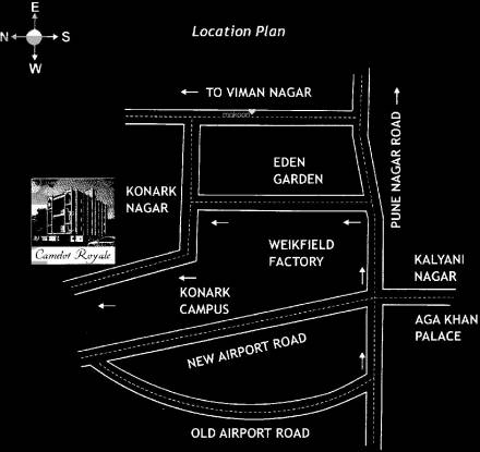 Mainland Camelot Royale Location Plan