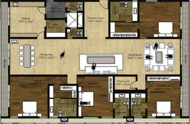 Vijay The Art Cluster Plan