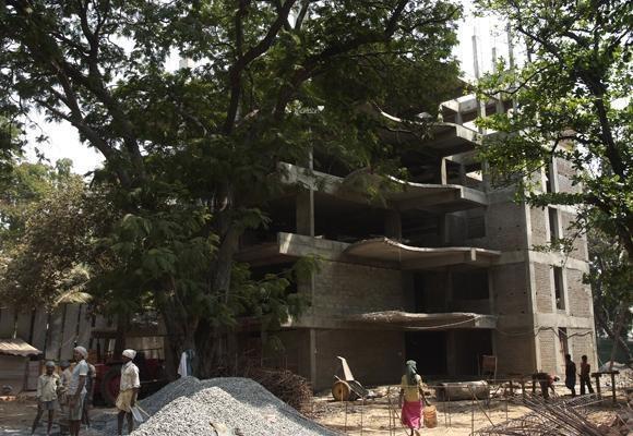 Vijay The Art Construction Status