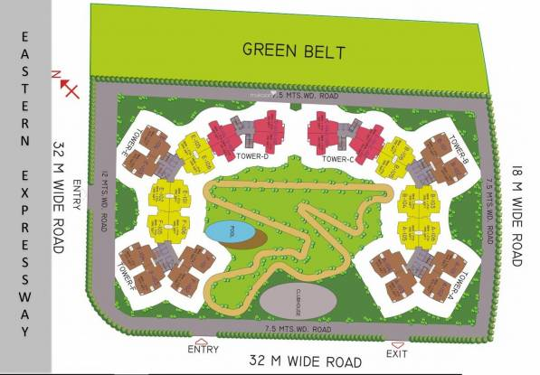 MSA Circuit Heights Site Plan