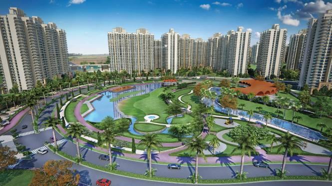 Gaursons Gaur Yamuna City Elevation