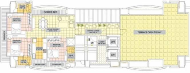 Supreme Park Vista Cluster Plan