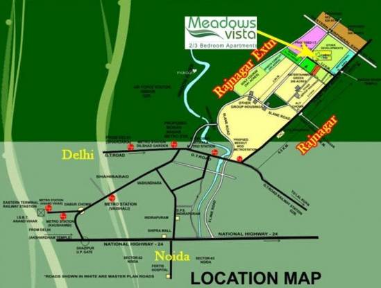 Value Meadows Vista1 Location Plan