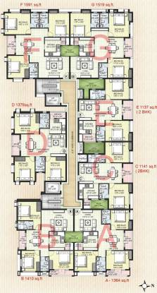 Kgeyes Padmalayam Cluster Plan