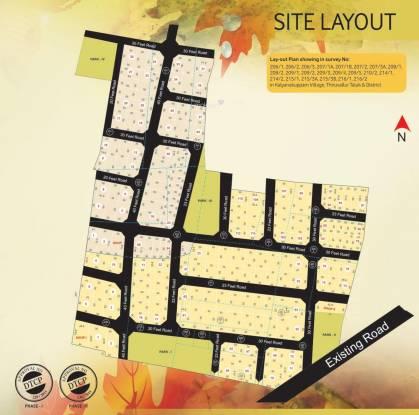 Ashok Nanda Vanam Layout Plan
