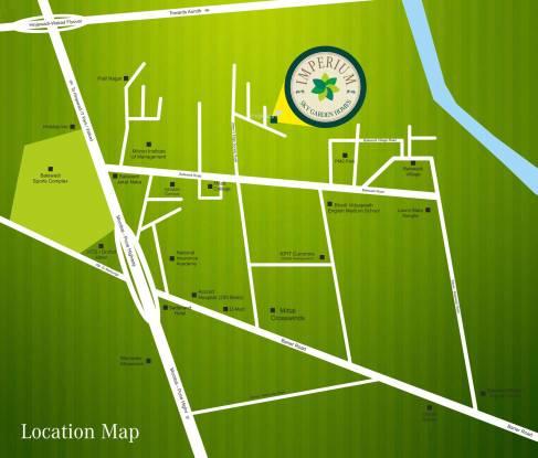 Mittal Imperium Location Plan