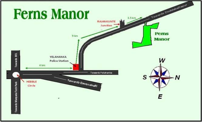 Ferns Manor Location Plan