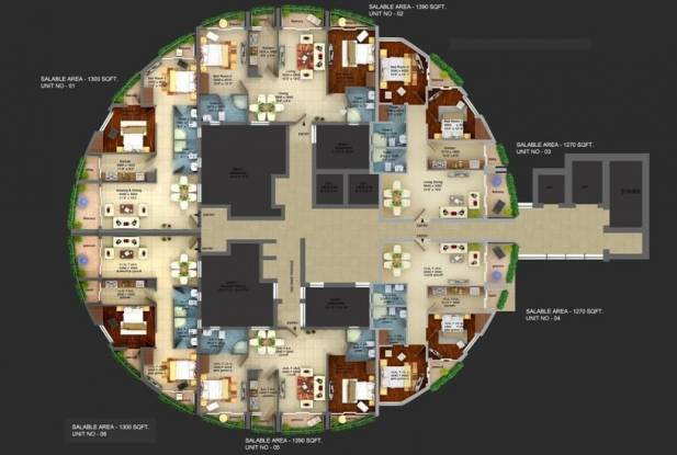 ASGI ASG Apple 7 Cluster Plan
