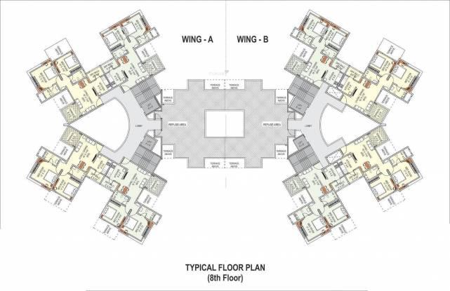 Prime Utsav Homes Cluster Plan