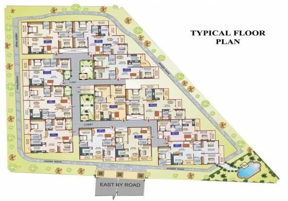 Nandana Presidency Cluster Plan