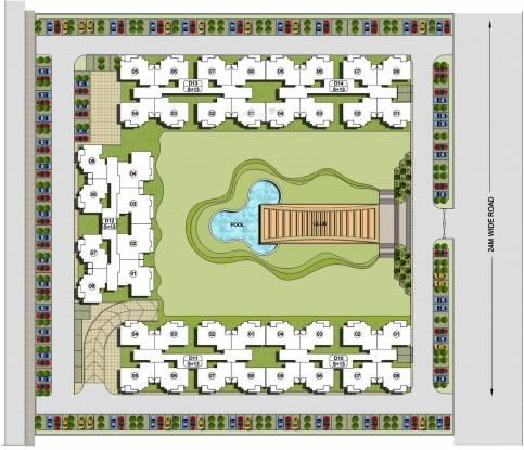 KLJ Platinum Heights Layout Plan